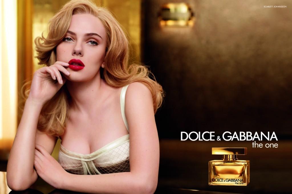 The One, Dolce & Gabbana para mulheres sedutoras