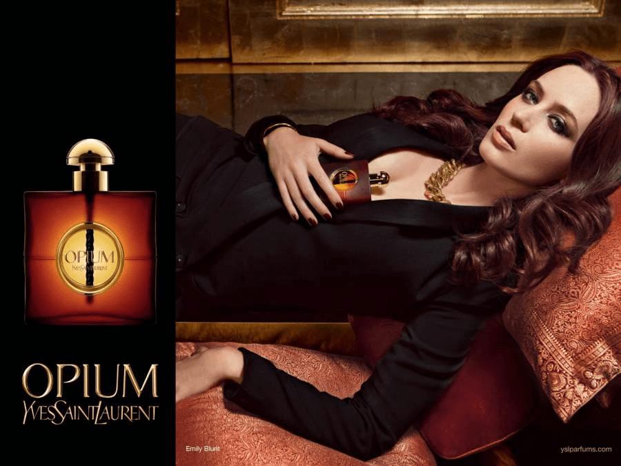 Opium, Yves Saint Laurent para mulheres sedutoras
