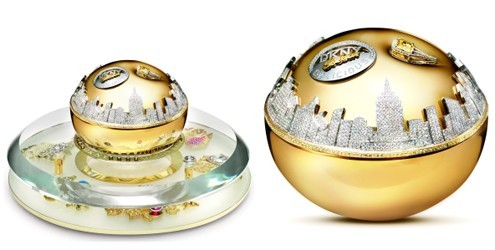 Golden Delicious Million Dollar Fragrance Bottle da DKNY no topo da lista de perfumes mais caros
