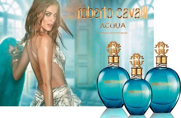 um dos perfumes femininos para o verão é o Roberto Cavalli Acqua