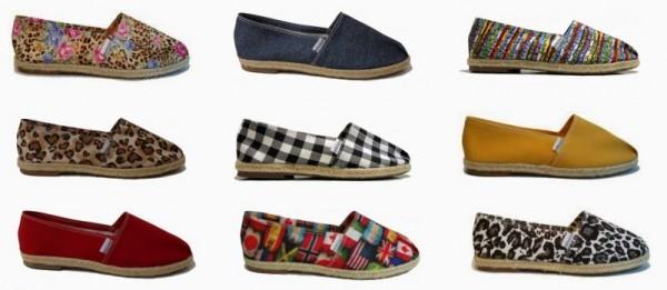 Alpargatas entre as tendências de calçados verão 2015