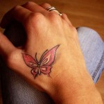 Beautiful-Butterfly-Hand-Tattoo-for-Women