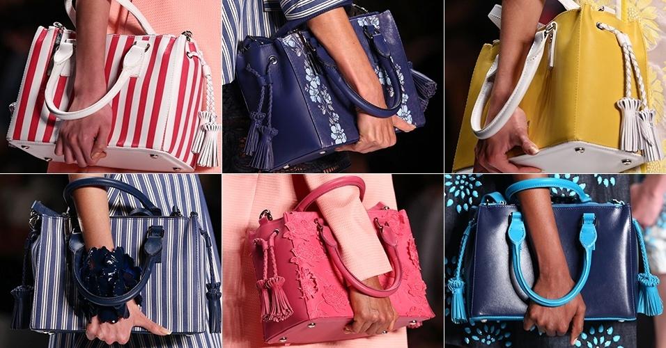 Bolsa De Festa Tendencia 2015 : Tend?ncias de bolsas primavera ver?o site beleza