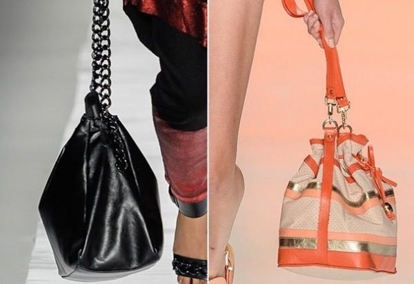 bolsas saco entre as tendências de bolsas