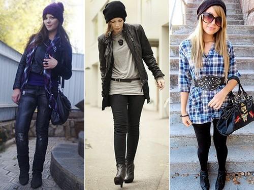 Chapéu, touca e gorro tendências de inverno
