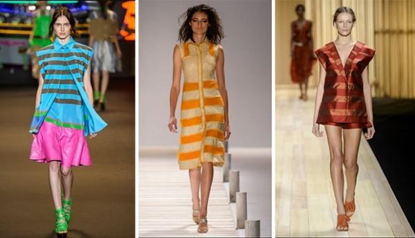 listras entre as tendências para a Primavera Verão 2015