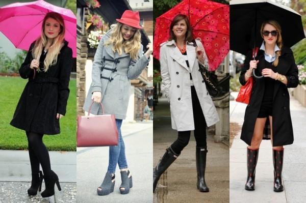 Dicas de looks para dias de chuva
