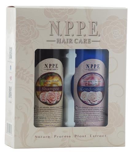 Kit Shampoo e Condicionador Camellia para os cabelos vermelhos