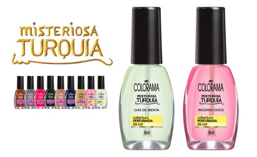 top coat Cobertura perfumada, Colorama