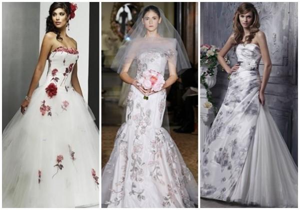 Sugestões de vestidos de noiva modernos