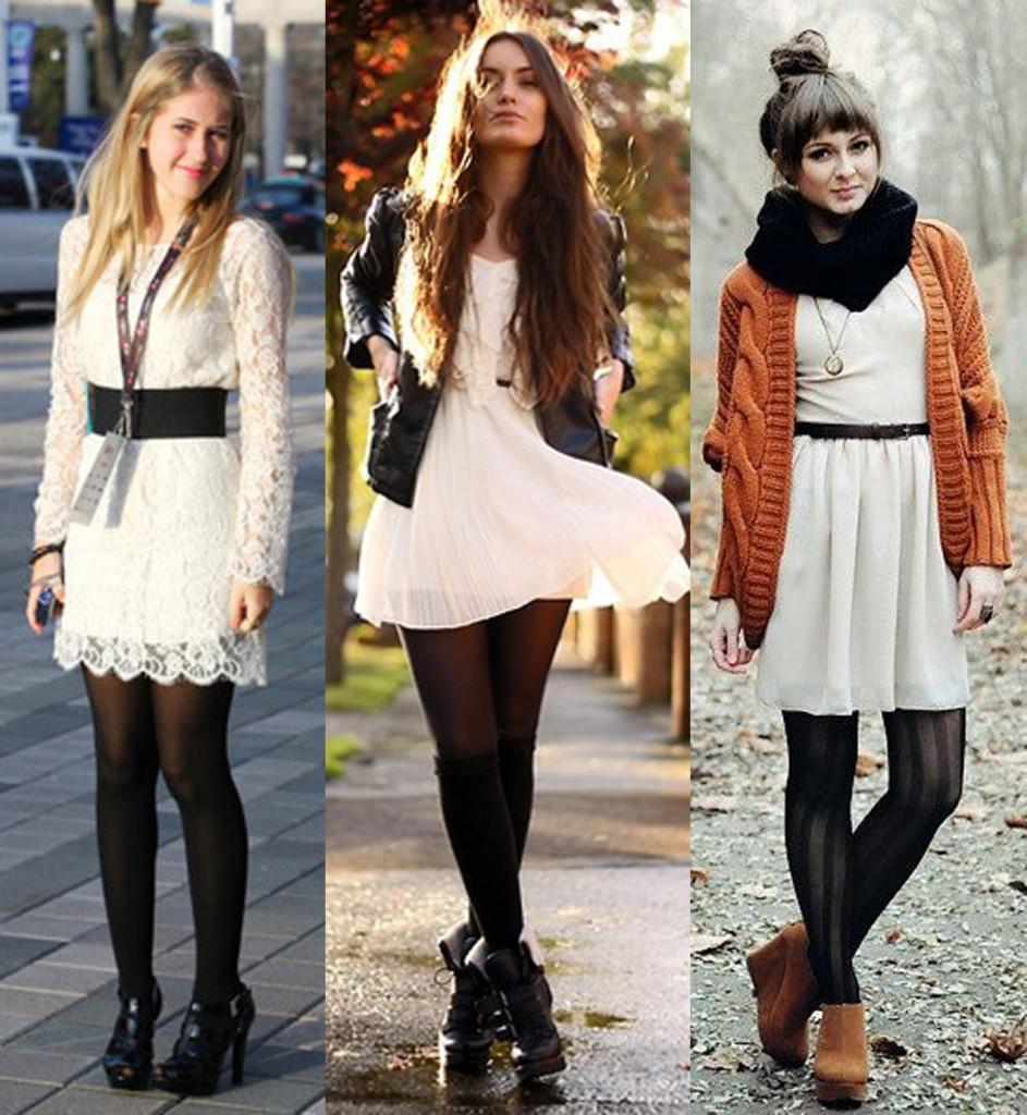Vestidos para usar no inverno