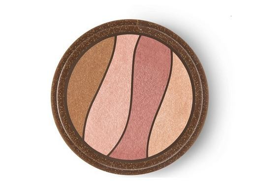 Quarteto Natura Aquarela Renda Sol Blush