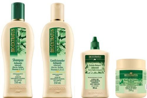 Linha Jaborandi Bio Extratus para cabelos finos
