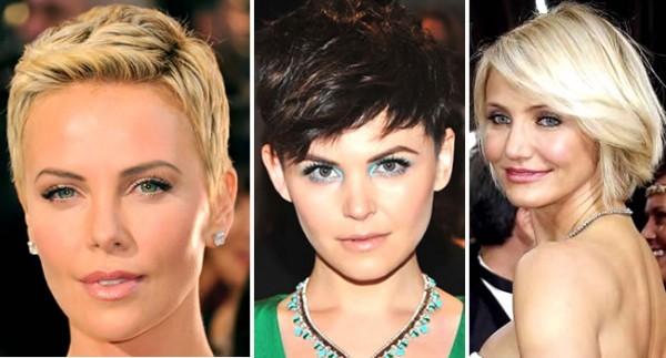 Fotos de cortes curtos modernos de celebridades