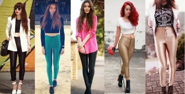 tendência das Disco Pants