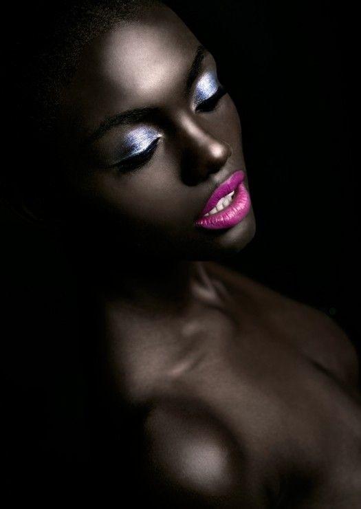 maquiagem -negras