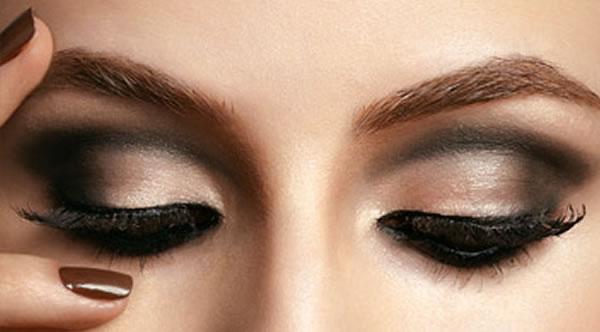 Truques de maquiagem para os olhos