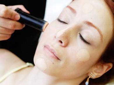 maquiagem para ruivas - base