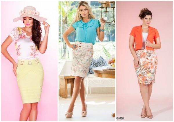 modelos de saias da moda evangélica 2015