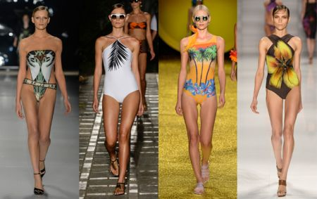 moda praia 2015 com Máxi Estampas