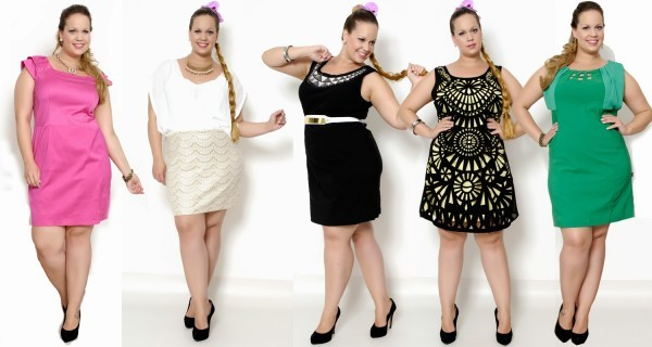 Sugestões de vestidos para gordinhas