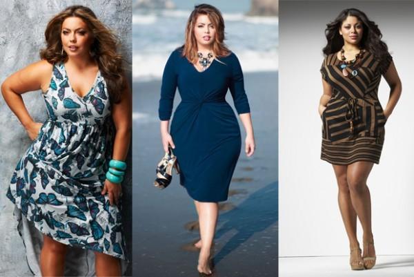 Escolha a alça certa dos vestidos para gordinhas