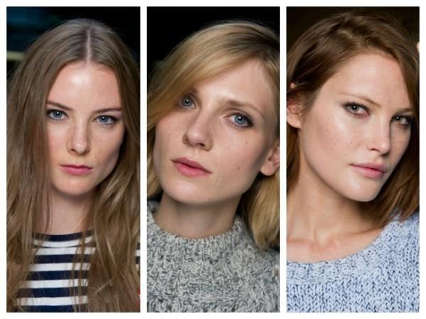 A tendência da maquiagem de sardas
