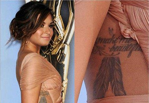 modelos de Tatuagens femininas na costela