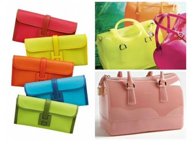 Bolsas da moda verão 2015 em tons Candy Color