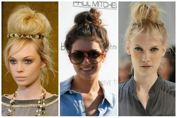 foto de famosas usando coque alto