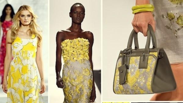 flores amarelas na primavera