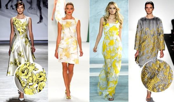 tendências das flores amarelas