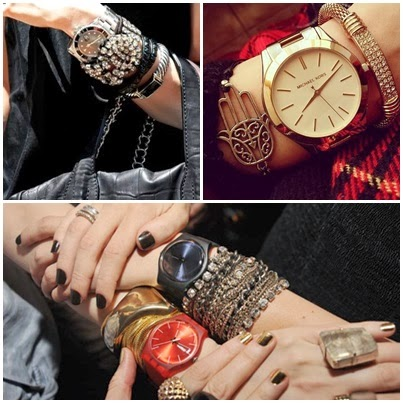 relógios da moda maxi acessórios