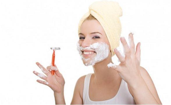 remover pelos faciais