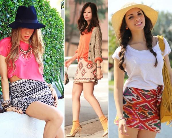 tendência da moda navajo