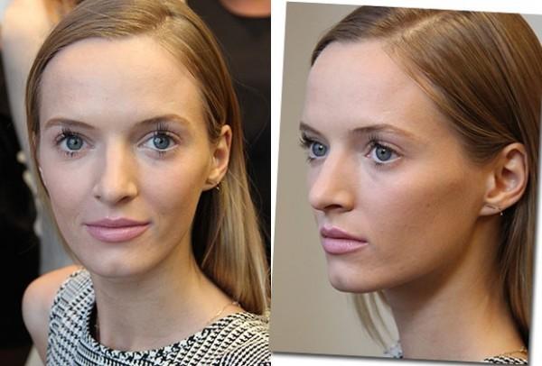 Cílios diferentes entre as tendências de beleza