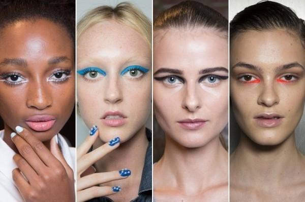 Efeito molhado entre as tendências de beleza