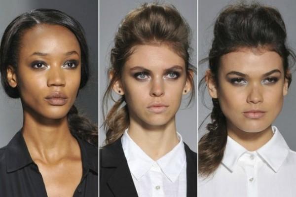 tranças entre as tendências de beleza