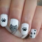 Aprenda fazer unhas decoradas com gatinhos