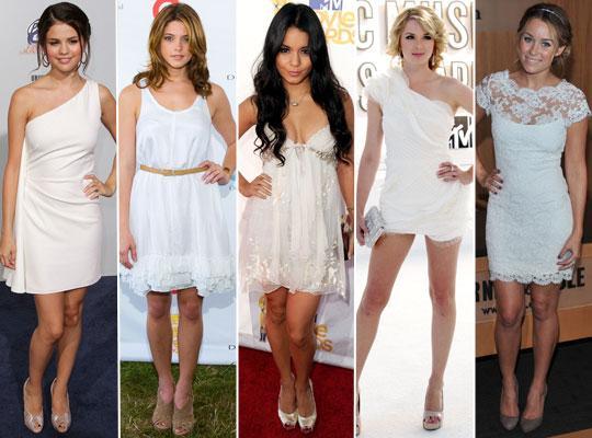 branco entre os Vestidos verão 2015
