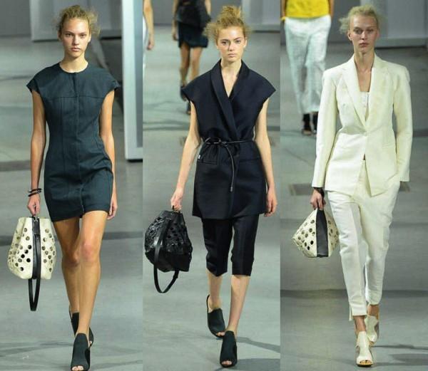 mulheres usando Bolsa Saco