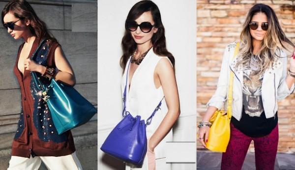 Bolsa Saco da moda