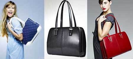 modelos de Bolsas femininas para tablets e laptops