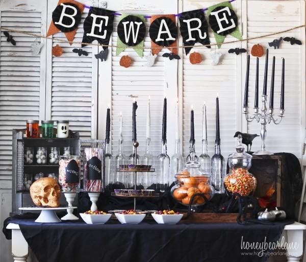Toalha de mesa para festa de Halloween