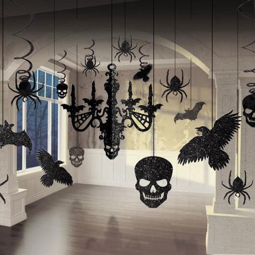 ideias para decorar uma festa de Halloween