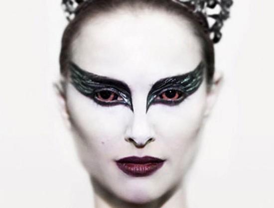 Black Swan e makes para halloween