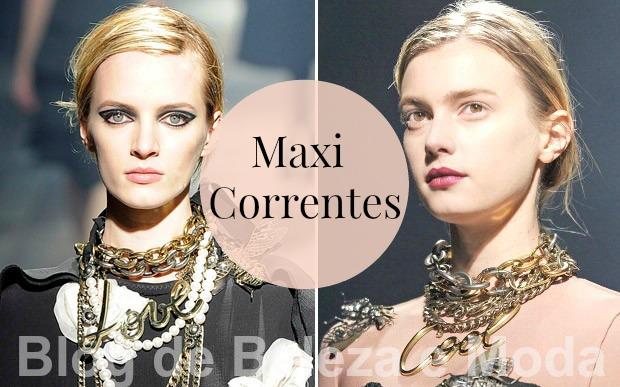 Se jogue nas Maxi Correntes, o acessório da vez
