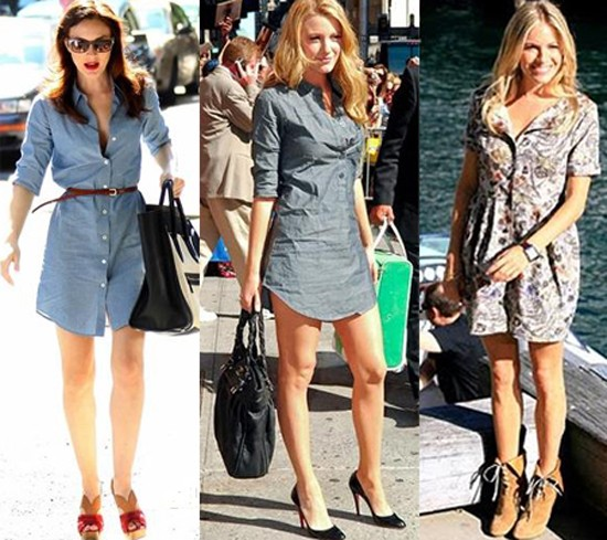 looks com Shirtdress