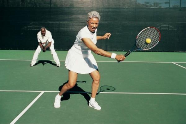 Aula de tênis