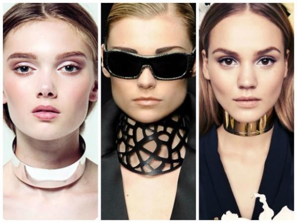 Givenchy, Krizia e Céline são algumas marcas que já apostaram nos Chokers